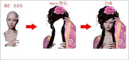 古装绝色美女制作全过程图解(2)