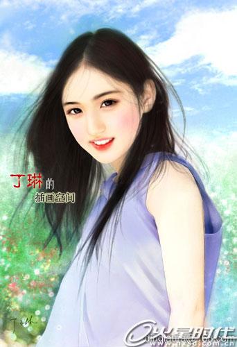 [唯美贴图] 丁琳手绘美女(84p); 纯青年代的恶作剧;; 蒲公英