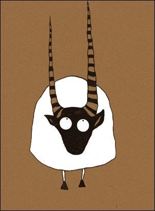 十二生肖形象幽默插画设计欣赏