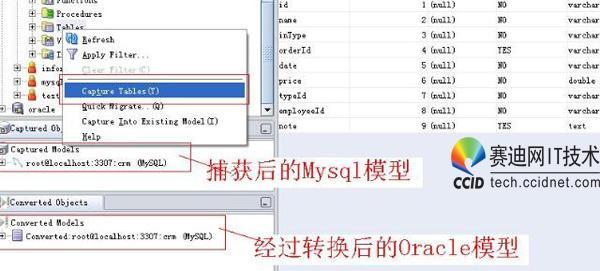 何将mysql数据库迁移到oracle数据库