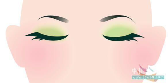 coreldraw鼠绘教程:绘制唯美黑玫瑰人物插画