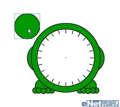 "flash制作可爱""小青蛙时钟""动画"
