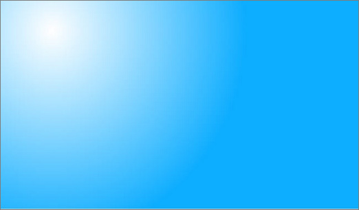 淡蓝色卡通背景边框