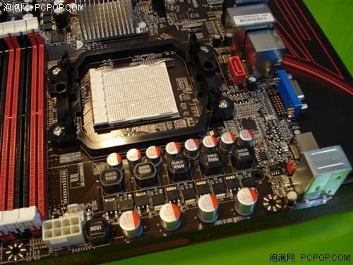 黑潮ba-230主板采用的是全固态电容加全