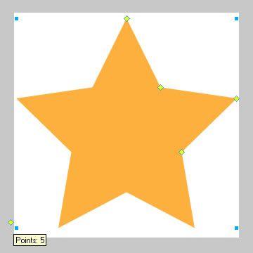 注意五角星左下角的控制点
