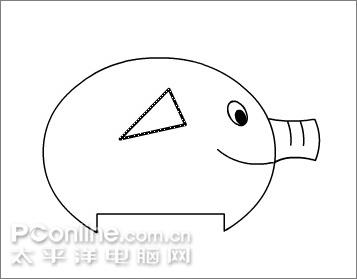 卡通音响手绘图