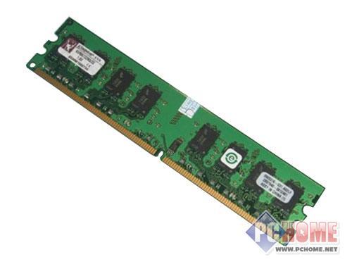 点击查看本文图片 金士顿 2GB DDR2 800(窄PCB板) - 春节将至 卖场最具人气内存条推荐