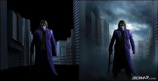 《蝙蝠侠:黑暗骑士》小丑角色制作大揭秘(2)