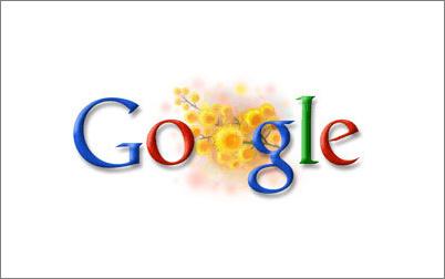 谷歌手绘logo