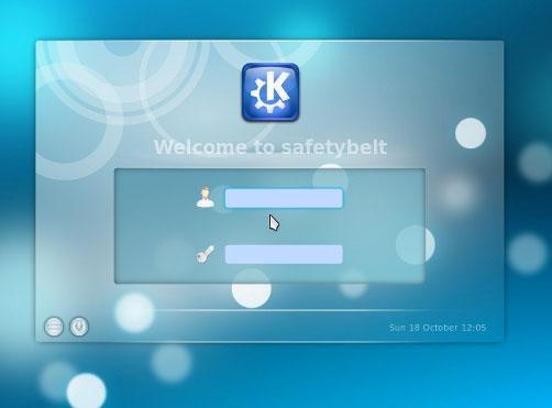 how to change kde login screen kubuntu