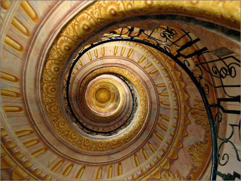 建筑奇观!世界15大最壮丽的螺旋楼梯  - 微笑 - 微笑