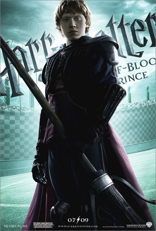 《哈利波特与混血王子》20张全尺寸海报