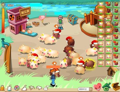 开心农场台服代理新游戏 不偷菜只养猪