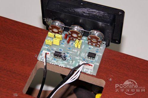 三诺 n-35g 摩机冠军版电子分频电路和前级电路