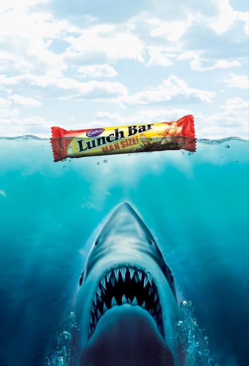 不许联想!64款国外食品广告创意海报赏(2)