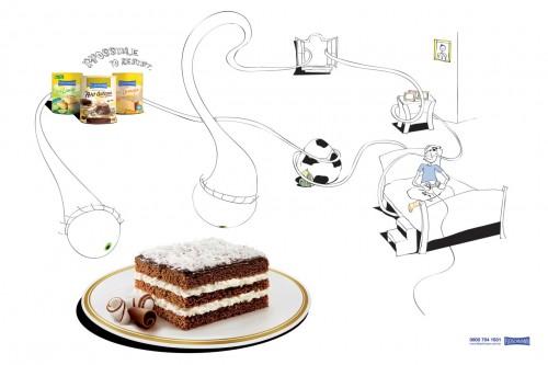 不许联想!64款国外食品广告创意海报赏(3)