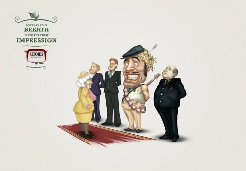 不许联想!64款国外食品广告创意海报赏(4)