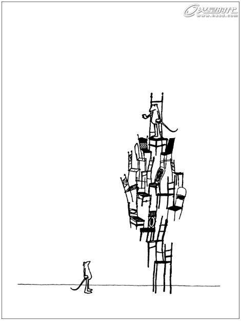 图形创意环保手绘