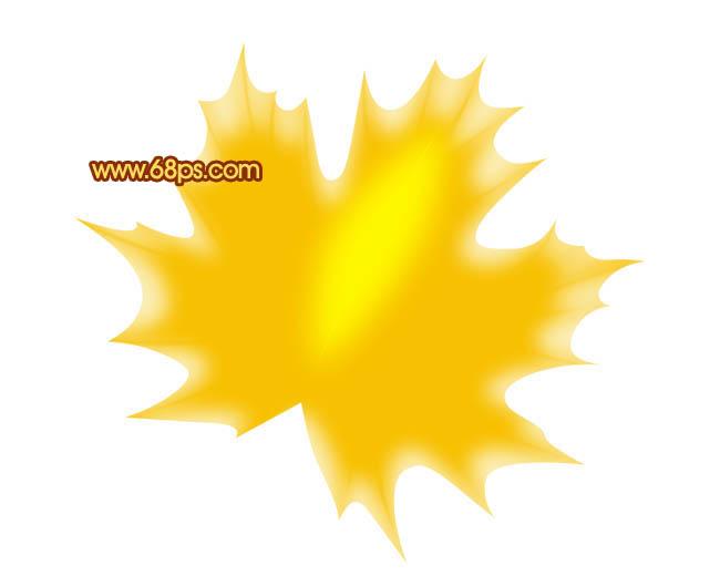树叶手工制作太阳