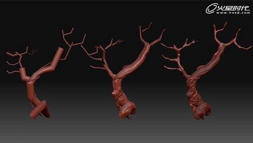 树屋室内效果图制作流程解析