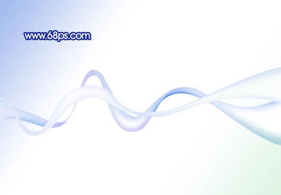 photoshop制作飘逸透明的彩带-华军资讯